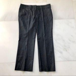 LOFT Petites Dark Grey Original Trouser Pants 14P